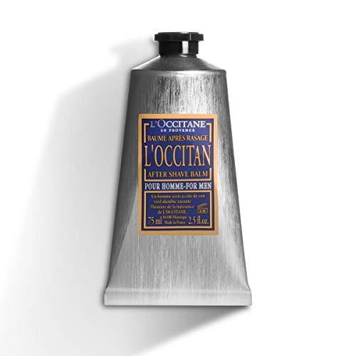 L'Occitane Moisturizing L'Occitan After Shave Balm for Men with Shea Butter, 2.5 Fl Oz