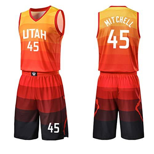 em Camiseta Donovan Mitchell Utah Jazz Naranja,Camiseta Swingman,Camiseta Deportiva,Camiseta City edici/ón