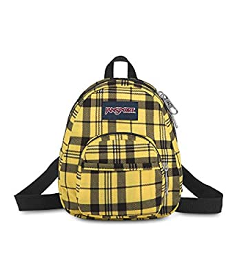 JanSport Quarter Pint Backpack - Stylish Mini Pack to Crossbody Day Bag, Throwback Plaid