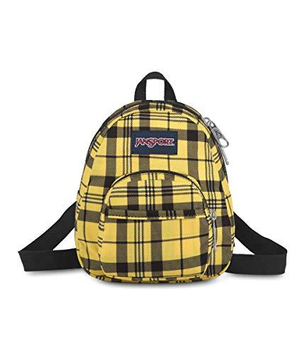 JanSport Quarter Pint Backpack - Stylish Mini Pack to Crossbody Day Bag, Throwback Plaid