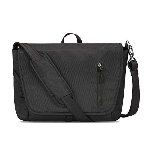 travelon leather messenger bags Travelon: Urban - Anti-Theft Messenger Bag - Black