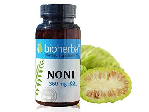 Bioherba Noni-Frucht 360mg, 60 Kapseln