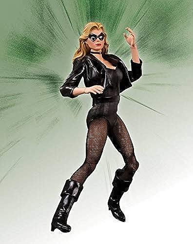 DC Direct DC Comics Actionfigur 1 6 schwarz Canary Deluxe 30cm