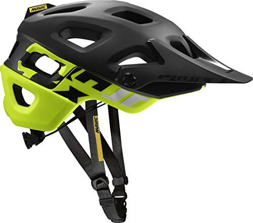 MAVIC Crossmax Pro MTB Fahrrad Helm schwarz/gelb 2018: Größe: S (51-56cm)