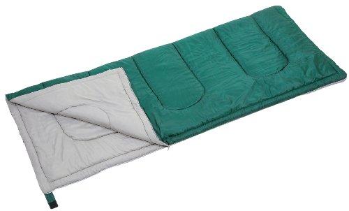 緑色の寝袋