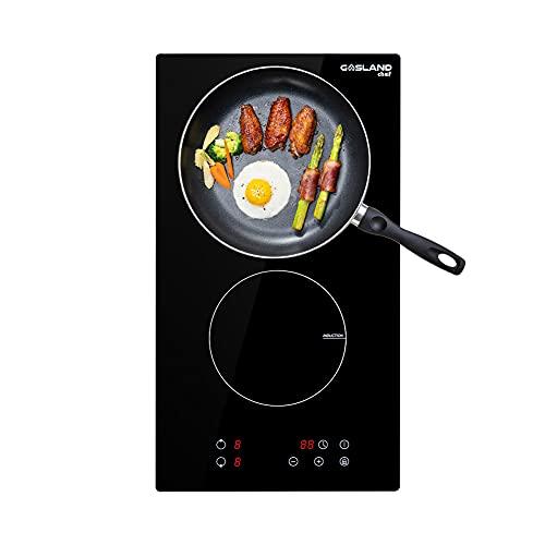 GASLAND Chef IH30BF Cocina de Inducción de 2 Zonas (30 cm, con Pantalla Táctil y Temporizador)