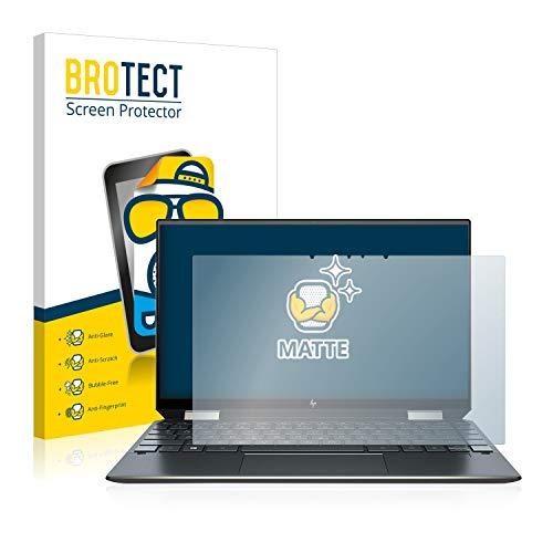 BROTECT Entspiegelungs-Schutzfolie kompatibel mit HP Spectre x360 13-aw0031ng Bildschirmschutz-Folie Matt, Anti-Reflex, Anti-Fingerprint