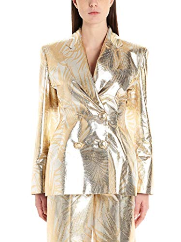 Luxury Fashion | Sara Battaglia Dames SB6002312098 Goud Polyester Blazers | Lente-zomer 20