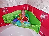 Badespielzeug Aufbewahrung - Extra-Starke Saugnapf Haken - Badewannen Spielzeug Bad