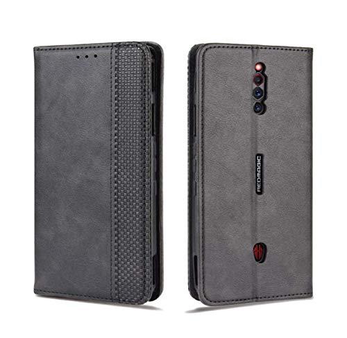 対応 Red Magic 5G 用のケース 手帳型 スマホケース 財布型 カード収納 横置き機能 マグネット 充電対応 手作り 高級PUレザー TPU ケース 全面保護 軽量 耐衝撃 防指紋