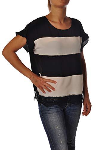 Blusa Twin Set blouse, ronde hals, met warme mouwen, jurk zacht