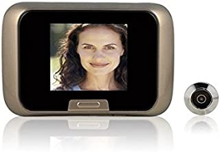 W&st Digital Door viewer, Peephole Camera, Security Camera with 2.8inch LCD Screen,Photo/Video, Long Standby, CE/FCC, Support TF Card Storage