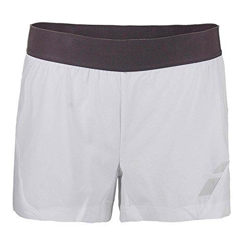 Babolat - Tennis-Shorts für Damen in Weiß, Größe L