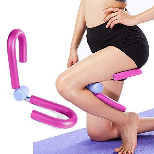 MEISHANG Multifunktionaler Thigh Master für Muskeln und Fitness, Oberschenkel-Trimmer, Bein-Übung, Heimstudio, Yoga, Sport, Abnehm-Training (Pulver)