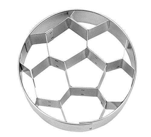 Städter Präge-Ausstecher Fußball, Silber, ca. 6 cm