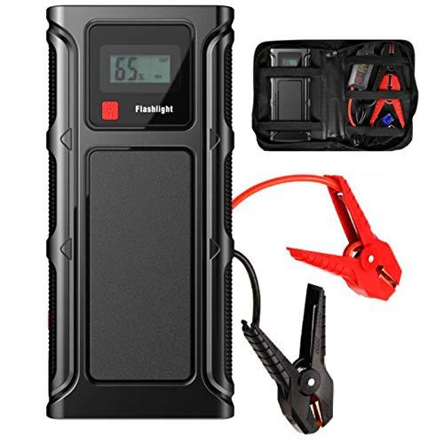 Best Prices! JYWAJAA Car Jump Starter Power PackCar Battery Booster Jump StarterPeak Current 200...
