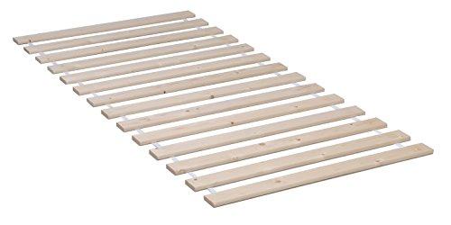 Weber Industries 1090 modernen 14 Leisten Lattenrost Schlafsack Holz, strukturiert, Natur, 90 x 190, 90 x 200 cm