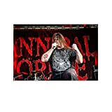 Cannibal Corpse Lead Singer Canvas Art Poster...