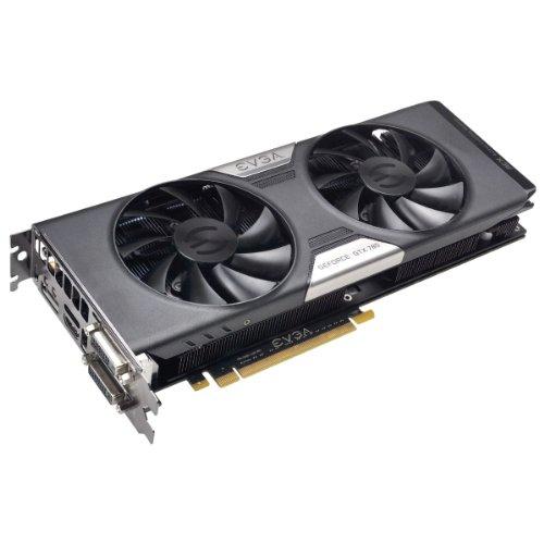 EVGA GeForce GTX 780 03G-P4-2782-KR Grafikkarte (PCI-e, 3GB GDDR5 Speicher, 2x DVI, HDMI, DisplayPort, 1 GPU)