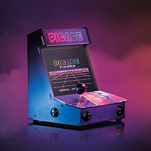 Picade - Der ultimative Desktop-Retro-Arcade-Automat! (10-Zoll-Display)