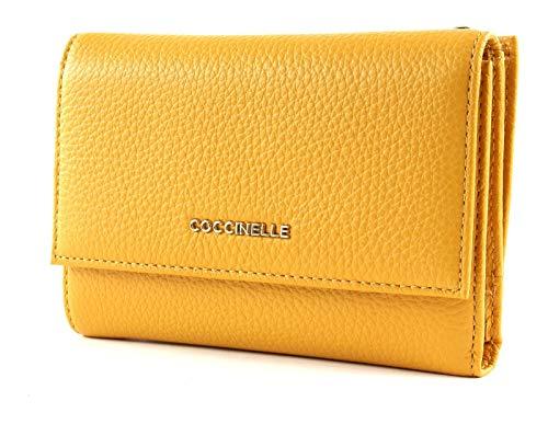 Coccinelle Flap Wallet Metallizzato Soft Flap Wallet Sun