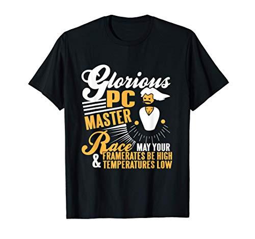 Glorious PC Master Race Gamer PC Gaming Esports T-Shirt