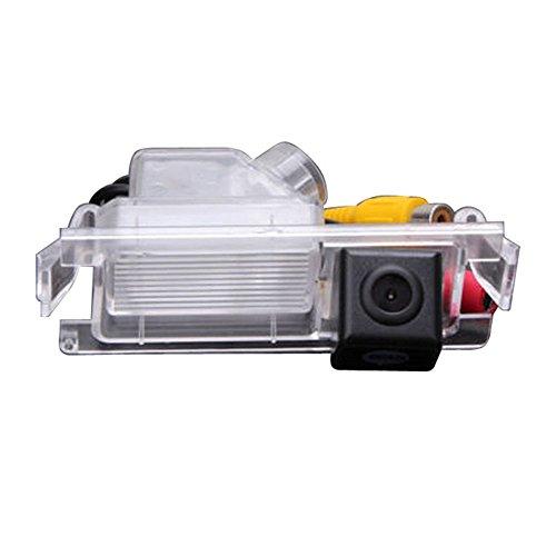 HDMEU Assistance de Stationnement de Véhicule de Kit D'appareil-photo D'inverse de Voiture avec Vision Nocturne Imperméable D'IP67 pour K2 Rio Verna Ceed 2013