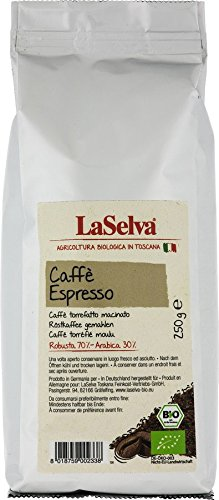 La Selva Bio Caffè espresso, gemahlen (12 x 250 gr)