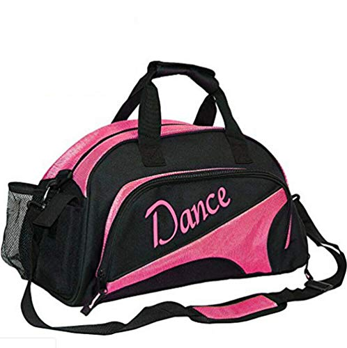 Bolsa de deporte para mujer, con compartimento para zapatos, para llevar a la noche, para ir al gimnasio, para bailar, para ir a la noche