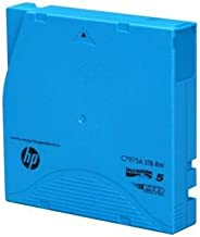 HP C7975AN LTO-5 Ultrium Non-custom Labeled Data Cartridge, 20pack, 3tb
