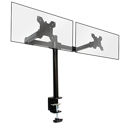 Dual Monitor Bracket For 13-27' Double Arm PC Screen Mount...