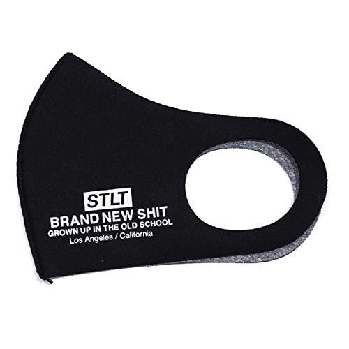 [サテライト] Satellite マスク 洗える リバーシブル ウイルス 大人 かっこいい 黒 ブラック ファッション ブランド 男女兼用 UV UV対策 花粉対策 エコ 兼用 フリーサイズ STLT MASK