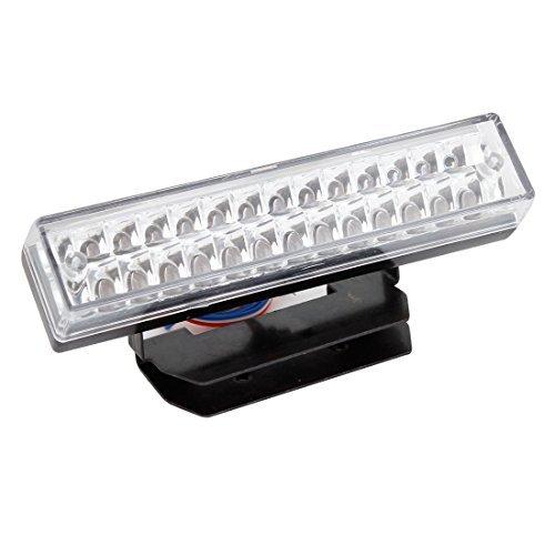 Auto Decor staart binnen REM Up Witte Lamp Luz DC 12V black doorzic htig