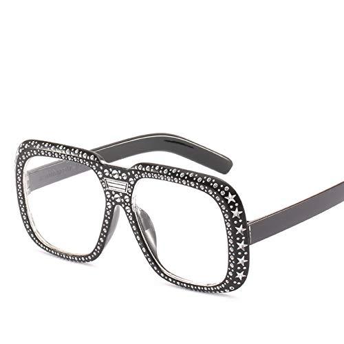SHEANAON Gafas de Sol cuadradas de Modapara Mujer, Montura de Gafas de Sol Coloridas para Mujer UV400