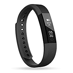 Fitness Tracker, Activity Smart Wristband, Sleep Monitor, Steps/Calorie and Distance Counter Pedometer for Android or iOS Phone, Bluetooth Bracelet Gifts for Kids Women Men