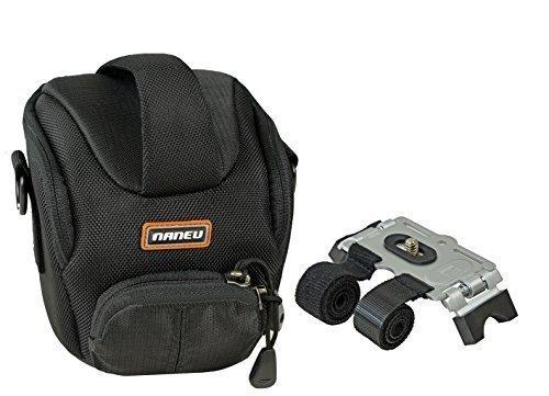 Foto Tasche NANEU C3 Tasche im Set mit Klett Stativ für Fahrradlenker etc.