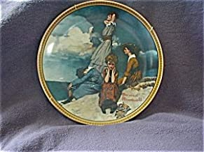 Knowles Waiting On The Shore, Norman Rockwell Collectible Plate