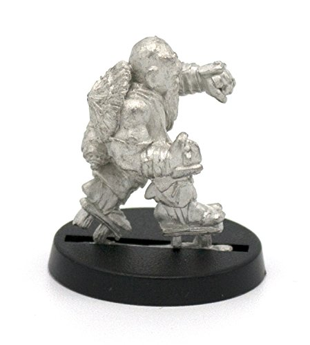 Stonehaven Dwarf Monk Miniature Figure (for 28mm Scale Table Top War Games) - Made in USA