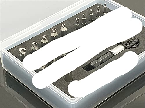 Juego de 22 destornilladores extractores de herramientas de propósito para desmontar tornillos de perno de espárrago dientes dañados demoler despojado roto 22 piezas negro