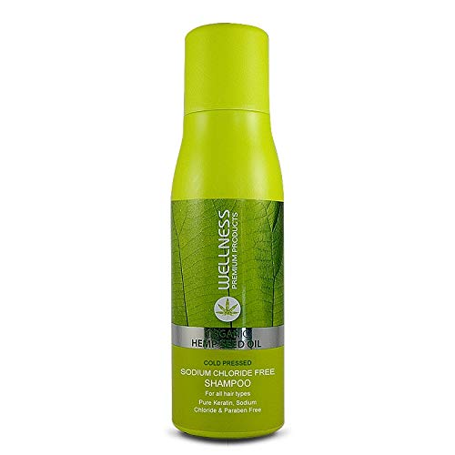 Wellness Organic Hemp Seed Oil Set Shampoo and Conditioner 500ml 16.9 fl.oz each