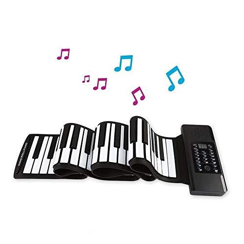 Find Bargain JJCFM 88 Keys Hand Roll Piano, Portable Professional Thickening Hand Roll Electronic Ke...