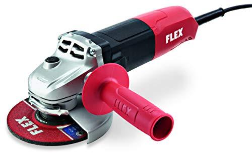 Flex Winkelschleifer L 1001 (ø 125 mm, Schleifmaschine inkl. Zusatzhandgriff, Schutzhaube werkzeuglos verstellbar, ergonomische Bauform, Spindelarretierung) 438340