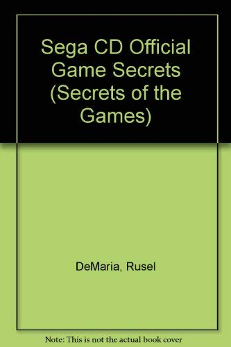 Sega Cd Official Game Secrets