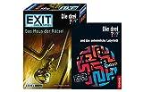 EXIT Kosmos 694043 Spiel - Das Haus der Rätsel - Die DREI??? Level: Einsteiger, Escape Room Spiel +...