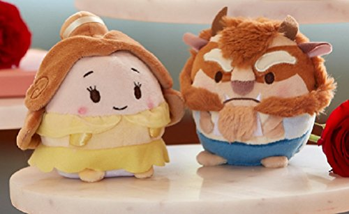 Belle Scented and Beast Scented Ufufy Plush set of 2