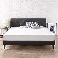 Zinus Judy Upholstered Platform Bed Frame (King)