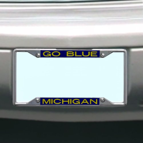 Stockdale NCAA Michigan Wolverines License Plate Frame