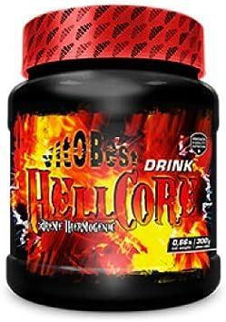 Quemagrasas HELLCORE - Producto de Calidad Optima y Quemagrasas Potente para Adelgazar - Vitobest (Cereza, 300g Drink Polvo)