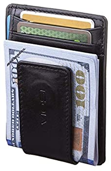 VIOSI Money Clip Leather Wallet For Men Slim Front Pocket Credit Card Holder with Powerful RARE EARTH Magnets