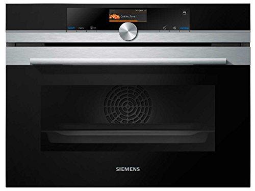 Siemens CS636GBS2 iQ700 Einbau-Kompaktbackofen / A+ / softMove-Türe / TFT-Display / LED Beleuchtung / inox/schwarz